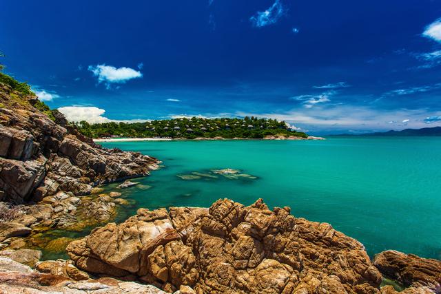 side of Koh Samui islan
